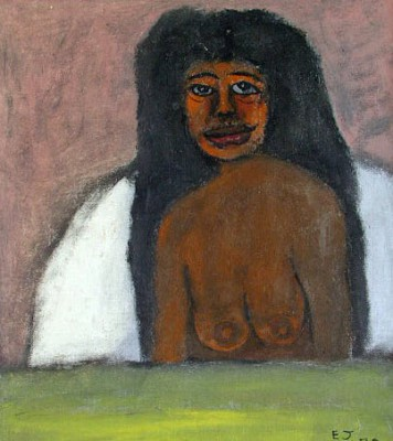 Woman in Bed Half Naked, 1979