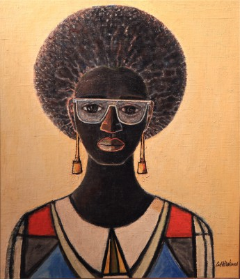 Afro Jewess by Carl Abrahams