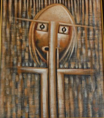 Garoute, Jean Claude- Voodoo Mask