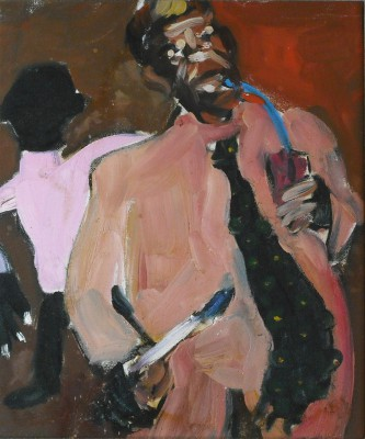 Portrait of Amos Ferguson (5 of 5), 1990