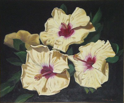 Yellow Hibiscus, 1991