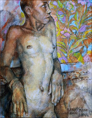 Life Within (Nude Portrait of Tiska), 2000