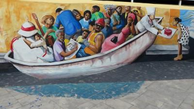 Haitianary Mural, 2015